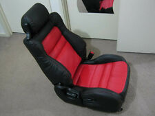 Custom made 1991-1999 Mitsubishi 3000GT/Stealth Syn Leather Seat Cover Black 2+2