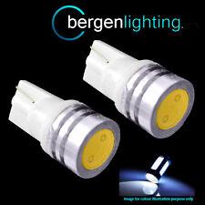 2x W5W T10 501 bianco alta potenza LED SMD LUCI DI POSIZIONE FANALI LATERALI