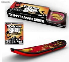 Tony Hawk Shred Bunble jeux + skate Playstation 3 PS3