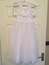 Rocha John Rocha Embellished 3D Dress Age 8 - Brand New - Bridesmaid / Communion
