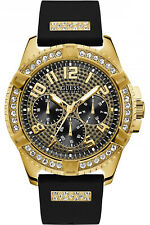 Reloj Hombre GUESS FRONTIER W1132G1 de Goma Negro