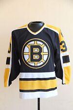 CCM BILL RANFORD Boston Bruins Sewn Jersey NHL Men Size Small SEWN RARE