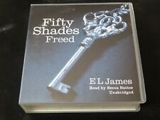E L James - Fifty Shades Freed (17 CD Audio Book) READ BY BECCA BATTOE OF GREY
