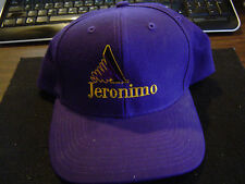 Appian Jeronimo Racing Embroidered Baseball Cap - Large - Plastic Strap
