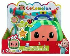 COCOMELON Musical Doctor Checkup Set Case 4 Pieces NEW Toy