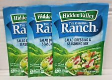 Hidden Valley Ranch Original Salad Dressing & Seasoning Mix 3 Pack