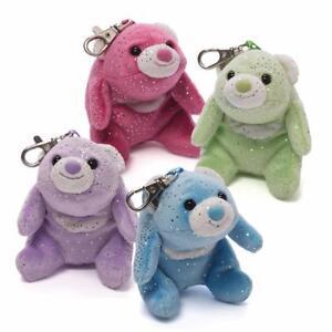 NEW GUND Snuffles Bear Glitter Backpack Clip