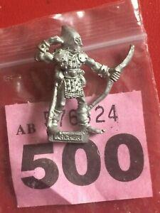 metal Wood Elf archer Skarloc bowman RRD4 Citadel Games Workshop Warhammer 1987