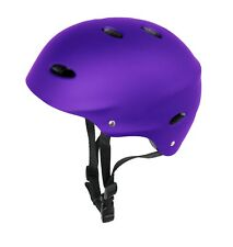 Kids Skate Helmet Urban Purple For Skateboards BMX and Stunt Scooter