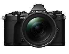 OLYMPUS OM-D E-M5 MarkII 12-40mm F2.8 Digital Camera Lens kit Black EMS W/T