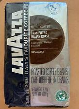 Lavazza Gran Filtro Italian Medium Roast Coffee Beans 2.2lb Bag BB 5/19 (MCR/ST)