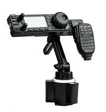 Lido Cup Holder Mount With Mic Hanger For Icom IC-706 IC-7000 IC-2820 ID-4100