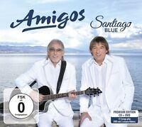 AMIGOS - SANTIAGO BLUE   CD + DVD NEU