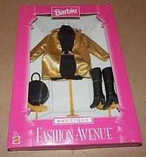 Barbie Fashion Avenue Collection Real Clothes Boutique Mattel 18126 NIB 97 121P