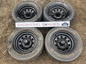 Holden 15inch HQ Wheels Suit HJ HX HZ WB 15 X 7 Steel Wheels Tyres
