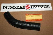 NOS 17852-20901 Genuine Suzuki RM80 Radiator Outlet Hose