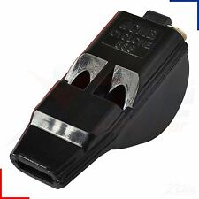 Acme Cyclone 888 Black Pealess Official Football Referee Whistle Loud