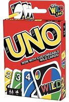 Mattel Games UNO Card Game Customizable with Wild Cards Perfect Family Gift
