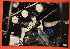 Angus Young AC/DC Signed Autographed 12x18 Photo Flawless w/ SKETCH PSA/DNA COA