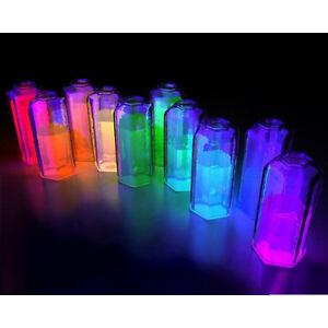 Pigmento  Fosforescente UV polvere. IDEALE per la bricolage, FAI-DA-TE, bijoux