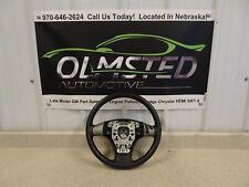 2006 2013 Corvette Z06 C6 Leather Steering wheel Black OEM GM Original Switches