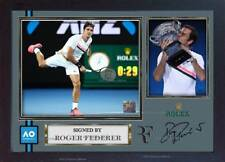 Roger Federer signed autograph photo print picture Australian Open 2018 Framed