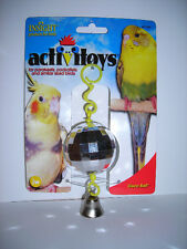 Birdie Disco Ball Toy-Fun-New-Entertaining- Toy-For Your Feathered Friend