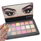 Rose Gold Textured Eyeshadow 18 Colors Matte Eyeshadow Palette Cosmetics Beauty~