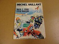 BD EO / MICHEL VAILLANT - MACH 1 POUR STEVE WARSON