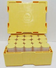 5 - Silver Maple Leaf Coin Tubes (Empty) Holds 25 Coins Each