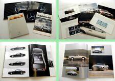Mercedes Benz SL R129  Prospekte Mappen Zeitschrift