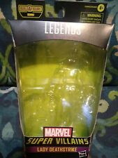 """Marvel Legends Hasbro 6"""" 1:12 Scale Lady Deathstrike* Box Only *no Figure*no..."""