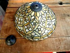 Vintage Tiffany Style Pendant Ceiling Light Lamp Impressive Stained Glass Shade