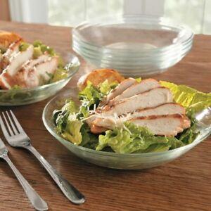 Duralex Lys Glass Dinner ,Dessert, Soup,Club, Plates Tempered Glass -PACK OF 6