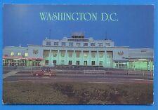 THE HISTORIC MAIN TERMINAL AT WASHINGTON NATIONAL AIRPORT.POSTCARD