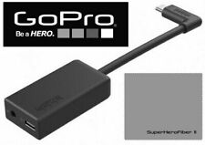 Genuine GoPro Pro 3.5mm Mic Adapter for HERO5 /HERO7 / HERO6 BLACK AAMIC-001