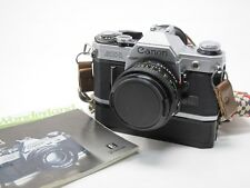 Canon AE-1 Film Camera with FD 50mm lens & winder, Tested and Working, Manual