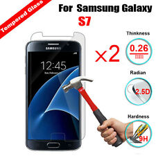 2Pcs Tempered Glass Premium Real Screen Protector Film Guard For Samsung Phones