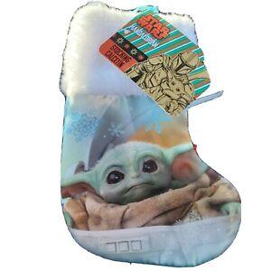 "Baby Yoda Grogu Star Wars The Mandalorian 6"" Mini Stocking The Child Christmas"
