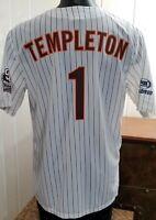 MLB San Diego PADRES Baseball GARY TEMPLETON #1 SGA Fox Sports Jersey ***Sz XL