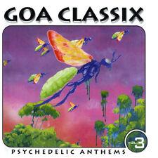 GOA CLASSIX 3 = Atmos/Shakta/Hallucinogen/Chi-AD...= CD = PSY TRANCE GOA !!