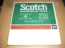 Blank reel to reel tape Scotch 215 1800 feet 7 inches Sealed New