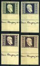 Briefmarken Österreich 1946 ** postfrisch Nr: 772 B - 775 B Dr. Renner BR688