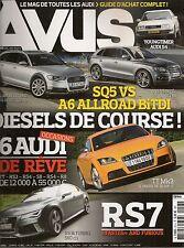 AVUS 24 AUDI RS6 RS7 R8 e-tron RS4 RS2 501CH 100 AVANT C3 1988 80 GLS VARIANT 77