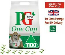 TEA BAGS PG PYRAMID Tips ONE CUP Fresh sealed 2.2kg 1100 bag UK Seller