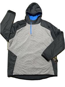 4XL Under Armour Men's ColdGear Reactor Jacket New. Blue. Black. Gray