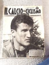 IL CALCIO E IL CICLISMO  ILLUSTRATO 1963 N° 13 Sormani in Nazionale  23/6