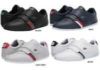 LACOSTE Misano Strap 120 1 U Men's Casual Leather Loafer Shoes Sneakers Black