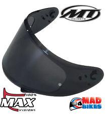 MT-V-12 Foncé Visière, Max Vision Pinlock Prêt MT Blade, Thunder, vengeance, Stinger