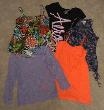 Aeropostale-Delias-Arizona Jean Co.-So++ Juniors Shirts Lot of 5 sz XS/M